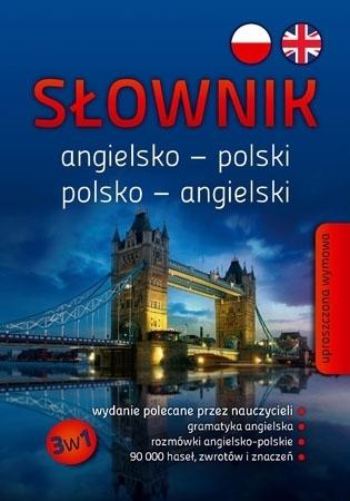 Słownik angielsko-polski, polsko-angielski 3w1 (SP/liceum/technikum) : Podręczniki szkolne