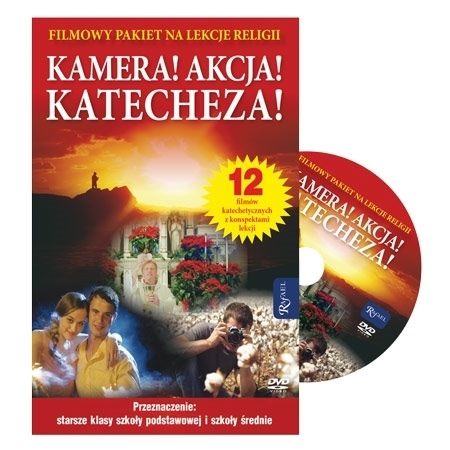 Kamera! Akcja! Katecheza! Pakiet filmowy DVD - Wojciech Jaroń