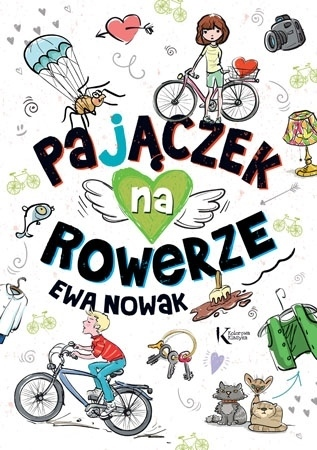 Pajączek na rowerze - Ewa Nowak : Lektury szkolne