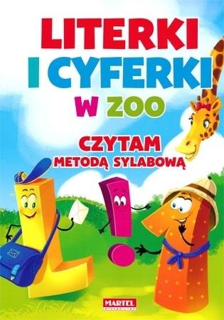 Literki i cyferki w zoo. Czytam metodą sylabową - Agnieszka Nożyńska-Demianiuk : Dla dzieci