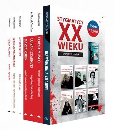 Stygmatycy XX wieku. Komplet 7 książek