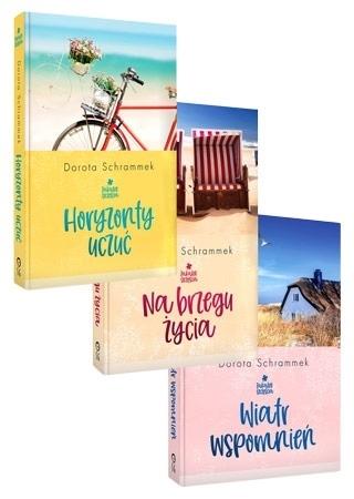 """Trylogia """"Zakątek szczęścia"""" - Dorota Schrammek : Powieść"""