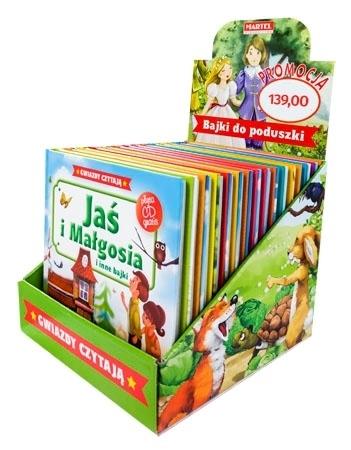 Bajki do poduszki. Pakiet 15 książek + 15 CD : Dla dzieci