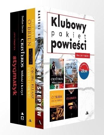 Klubowy pakiet powieści. Komplet 4 książek