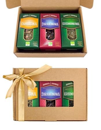 Herbatki ekologiczne (sypane). Zestaw
