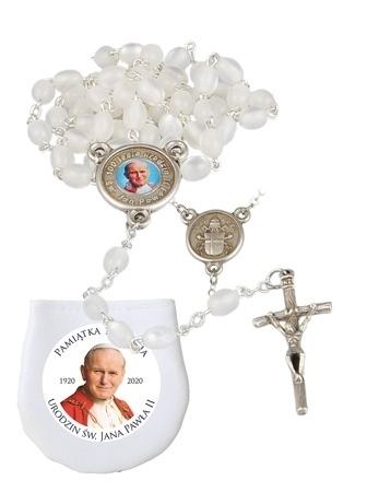 Jubileuszowy różaniec papieski. Pamiątka 100-lecia urodzin św. Jana Pawła II