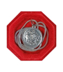 Medalik św. Krzysztof z łańcuszkiem - srebrnyMedalik św. Krzysztof z łańcuszkiem - srebrny, w jubilerskim opakowaniu