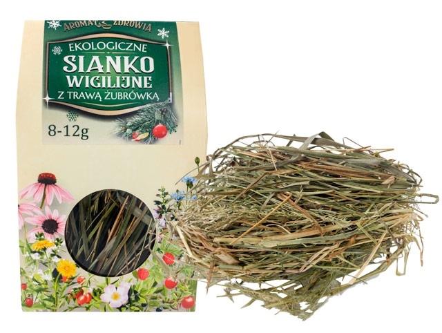 Ekologiczne sianko wigilijne z trawą żubrówką 8-12 g