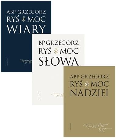 Moc Słowa, Wiary i Nadziei. Komplet 3 książek - Abp Grzegorz Ryś : Przewodnik duchowy