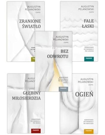 Komentarze do Ewangelii. Komplet 5 książek - o. Augustyn Pelanowski