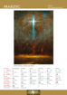 Odblask Tajemnicy 2020. Kalendarz na Rok Świętego Jana Pawła II - miesiąc marzec