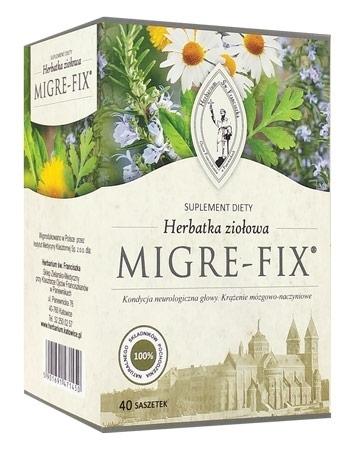 Herbatka ziołowa Migre-Fix. 120 g (40 saszetek po 3 g)