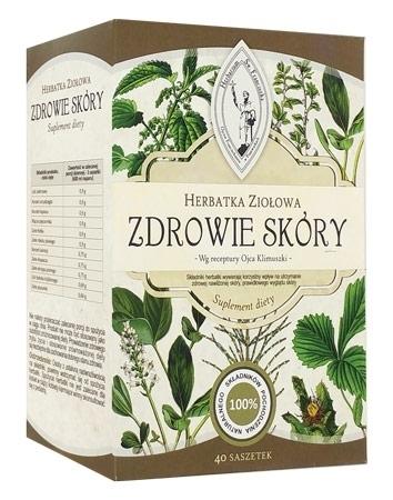 Herbatka ziołowa. Zdrowie skóry. 120 g (40 saszetek po 3 g)