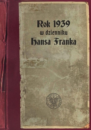 Rok 1939 w dzienniku Hansa Franka - Hans Frank