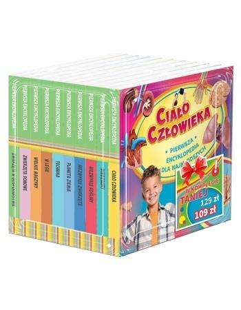Pierwsza encyklopedia dla najmłodszych (wiek 3-9 lat) : Dla dzieci