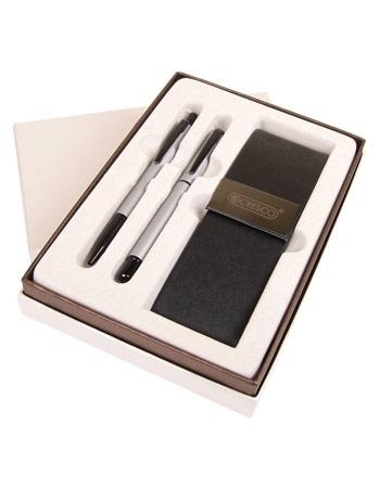 Komplet pióro + długopis Winner Black + etui (w dodatkowym pudełku)