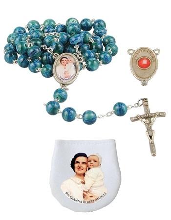 Różaniec św. Joanny Beretty-Molli : Dewocjonalia