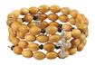 Bransoletka - różaniec z drewna oliwnego : Dewocjonalia