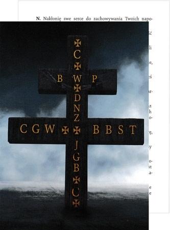 Krzyż ochronny z modlitwą na czas epidemii