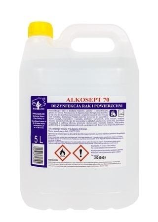 Płyn do dezynfekcji Alkosept 70, 5 litrów