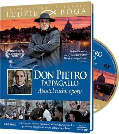 Don Pietro Pappagallo. Apostoł ruchu oporu. Książeczka z płytą DVD
