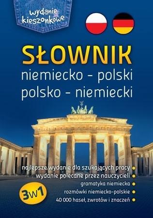 Słownik niemiecko-polski, polsko-niemiecki 3w1. Wydanie kieszonkowe : Dla dzieci