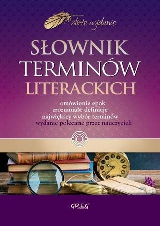 Słownik terminów literackich  : Dla dzieci