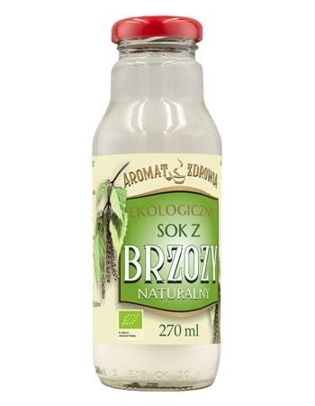 Ekologiczny sok z brzozy, naturalny, 270 ml