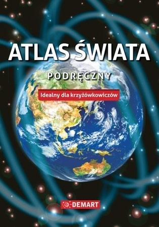 Atlas świata podręczny - Idealny dla krzyżówkowiczów