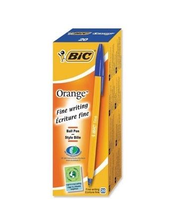 Długopis BIC Orange niebieski. 20 sztuk