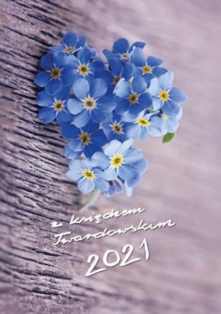 2021 z ks. Twardowskim. Kwiatek : Kalendarz