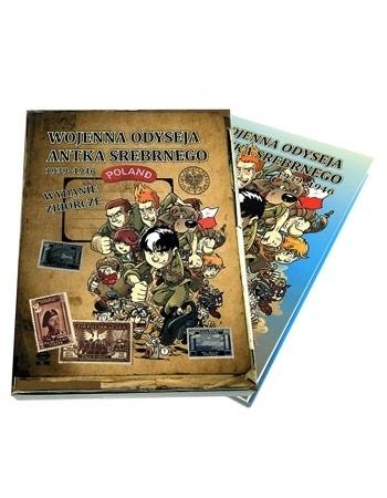 Wojenna odyseja Antka Srebrnego 1939–1946. Wydanie zbiorcze : Dla dzieci