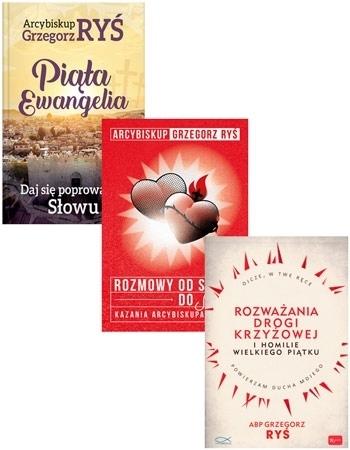 Abp Grzegorz Ryś. Nauczanie. Komplet 3 książek - abp Grzegorz Ryś