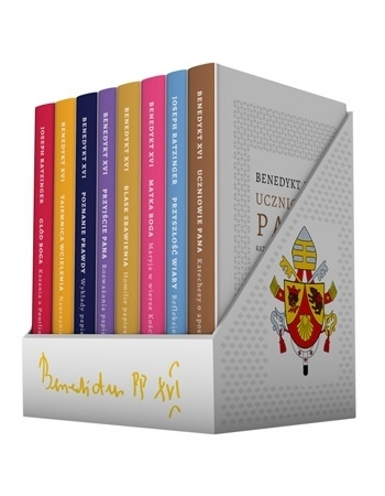 Benedykt XVI. Komplet 8 książek - Benedykt XVI, kard. Joseph Ratzinger