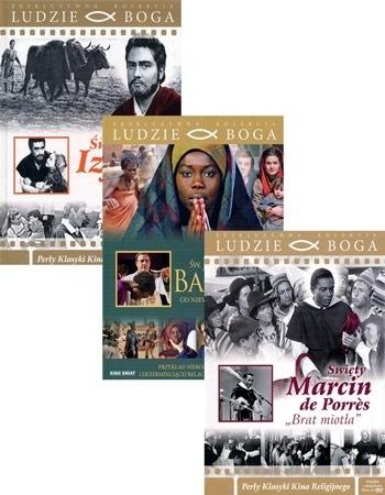 Święci, których pokochasz. Komplet 3 książeczek i 3 filmów DVD