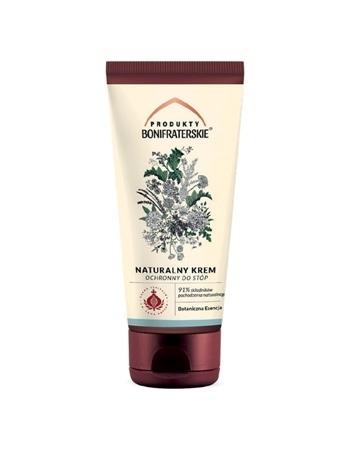 Naturalny krem ochronny do stóp. Kosmetyk, 50 ml : Preparaty ziołowe