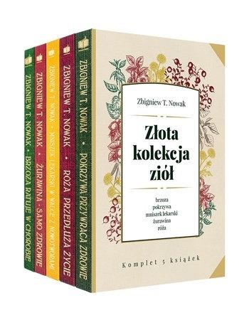Złota kolekcja ziół - Zbigniew T. Nowak : Komplet 5 książek