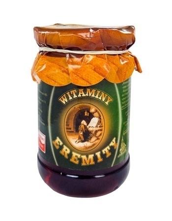 Witaminy Eremity. Syrop z owocu bzu czarnego, ok. 300 ml