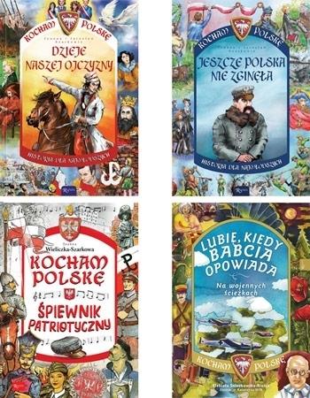 Kocham Polskę. Mały zestaw. Komplet 4 książek