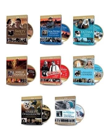 Wielki pakiet filmowy - 8 filmów DVD