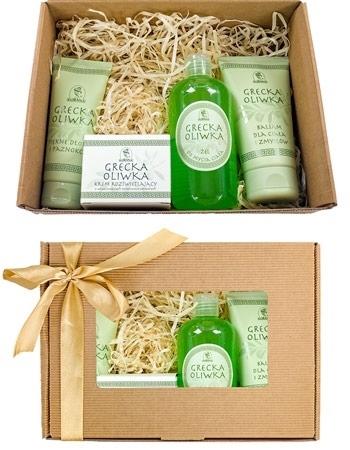 Zestaw kosmetyków Grecka oliwka