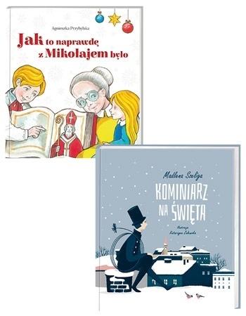 Świąteczny pakiet dla dzieci. Komplet 2 książek!