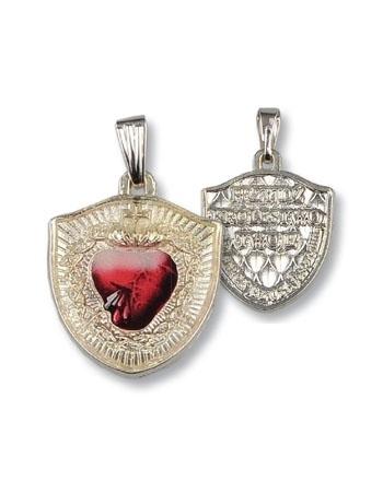 Medalik Tarcza Najświętszego Serca Pana Jezusa
