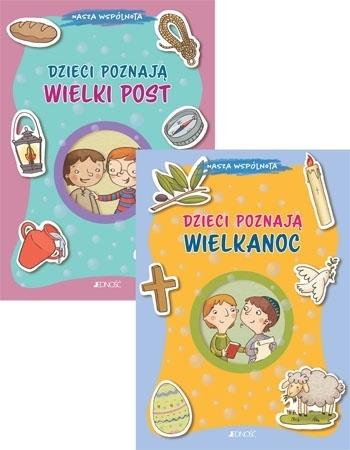 Dzieci poznają Wielki Post + Wielkanoc. Komplet 2 książek - Barbara Baffett