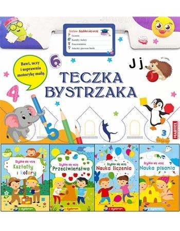 """Teczka bystrzaka Zestaw """"Szybko się uczę"""" : Dla dzieci"""
