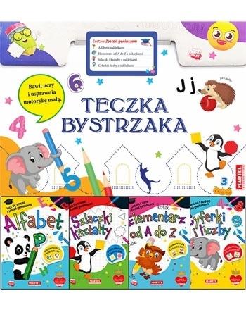 """Teczka bystrzaka Zestaw """"Zostań geniuszem"""" : Dla dzieci"""