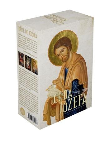 Cuda świętego Józefa. Komplet 3 tomów w etui