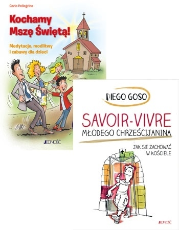 Katolicki niezbędnik dla dzieci. Komplet 2 książek