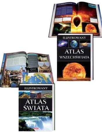Ilustrowane Atlasy - Świata i Wszechświata