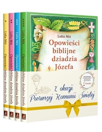 Opowieści biblijne dziadzia Józefa. Komplet 4 książek - Lidia Miś